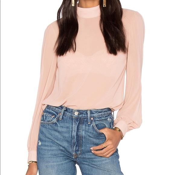 LPA Tops - LPA nude pink long sleeve top